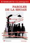 Paroles de la Shoah -  Collectif -  - 9782080721297