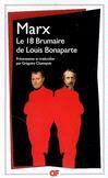 18 Brumaire de Louis Bonaparte (Le) - Karl Marx -  - 9782081204959