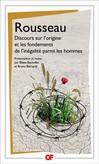 Discours sur l'origine et les fondements de l'inégalité parmi les hommes -  Rousseau -  - 9782081206809