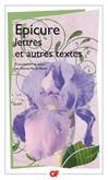Lettre à Ménécée -  Épicure -  - 9782080712745