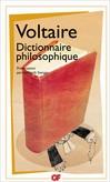 Dictionnaire philosophique -  Voltaire -  - 9782081231504