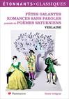 Fêtes galantes. Romances sans paroles -  Verlaine -  - 9782081303140