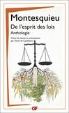 De l'esprit des lois -  Montesquieu -  - 9782081279841
