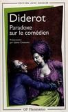 Paradoxe sur le comédien -  Diderot -  - 9782080711311