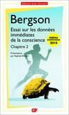 Essai sur les données immédiates de la conscience (chapitre 2) - Henri Bergson -  - 9782081289642
