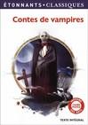 Contes de vampires - Luigi Capuana, Théophile Gautier,  Polidori -  - 9782081303157